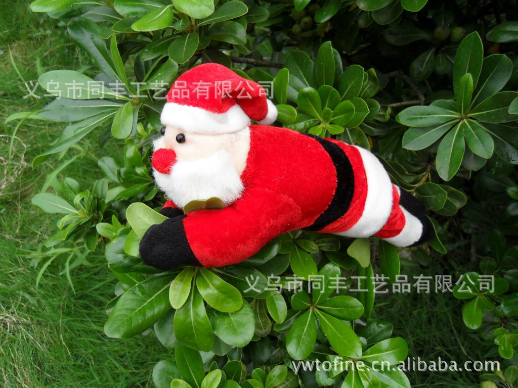 小聖誕老人 超柔絨玩偶 聖誕禮品配件 聖誕配件掛件